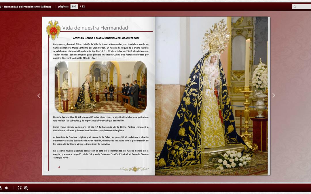 Prendimiento - Boletín Cuaresma 2015
