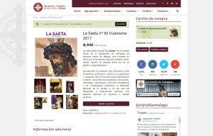 Tienda online revista La Saeta