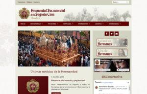 www.hermandadsagradacenahuelva.es