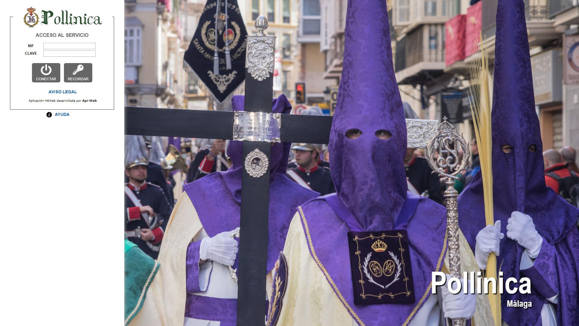 Cofradía de la Pollinica Málaga