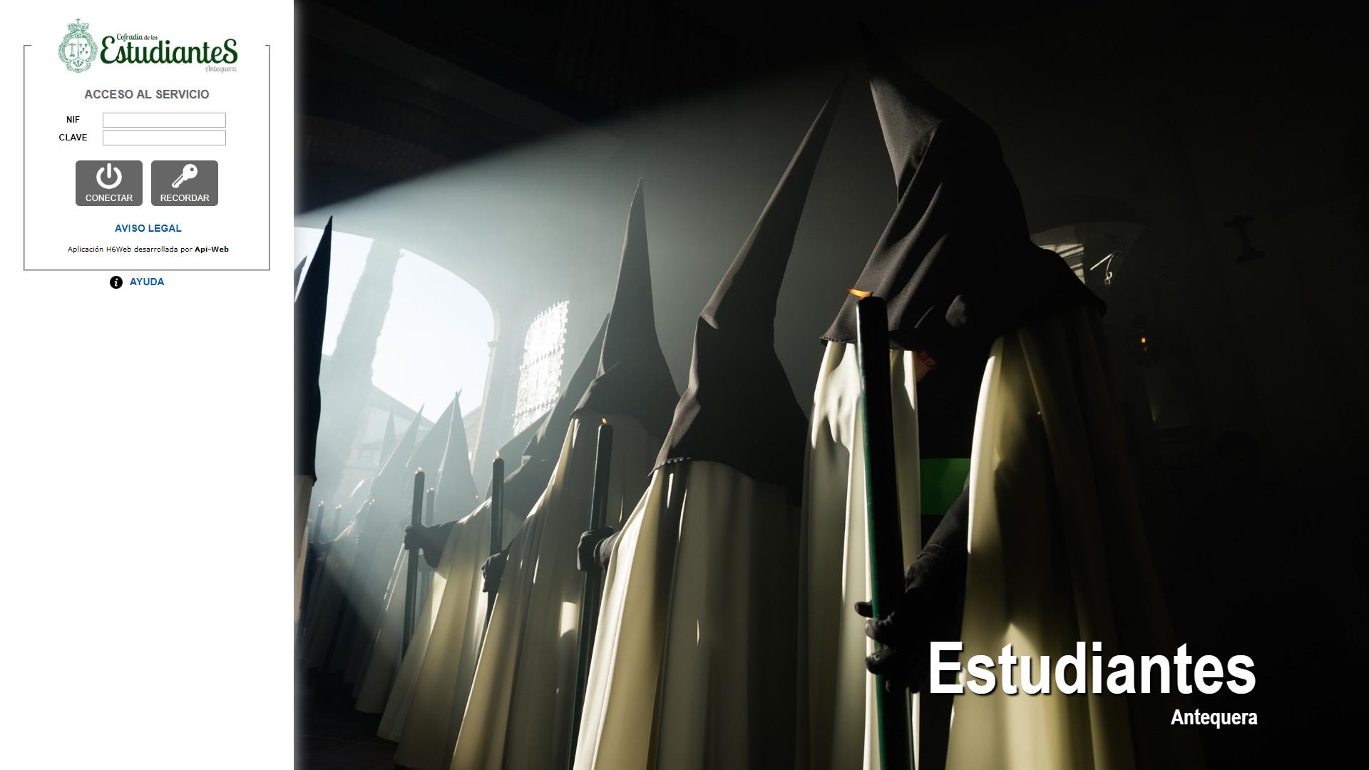 H6Web: Cofradía de los Estudiantes (Antequera)