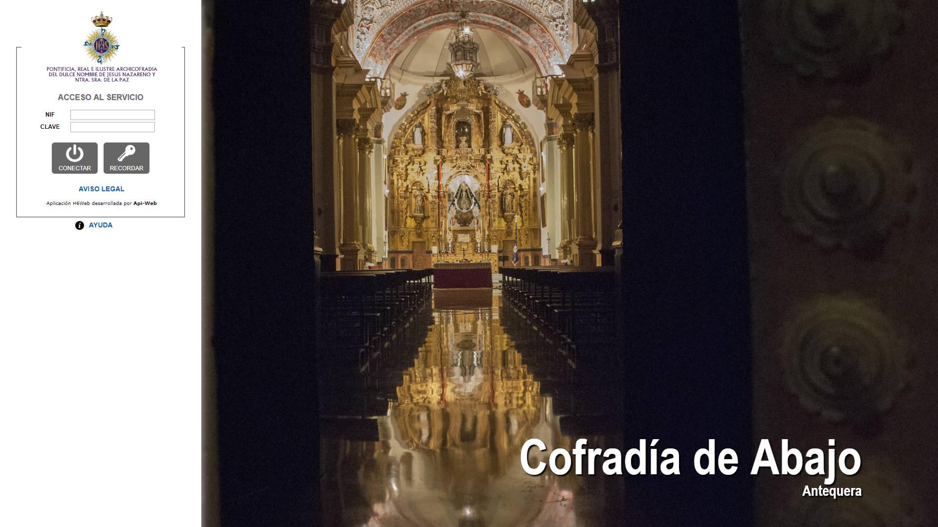 H6Web: Cofradía de Abajo (Antequera)