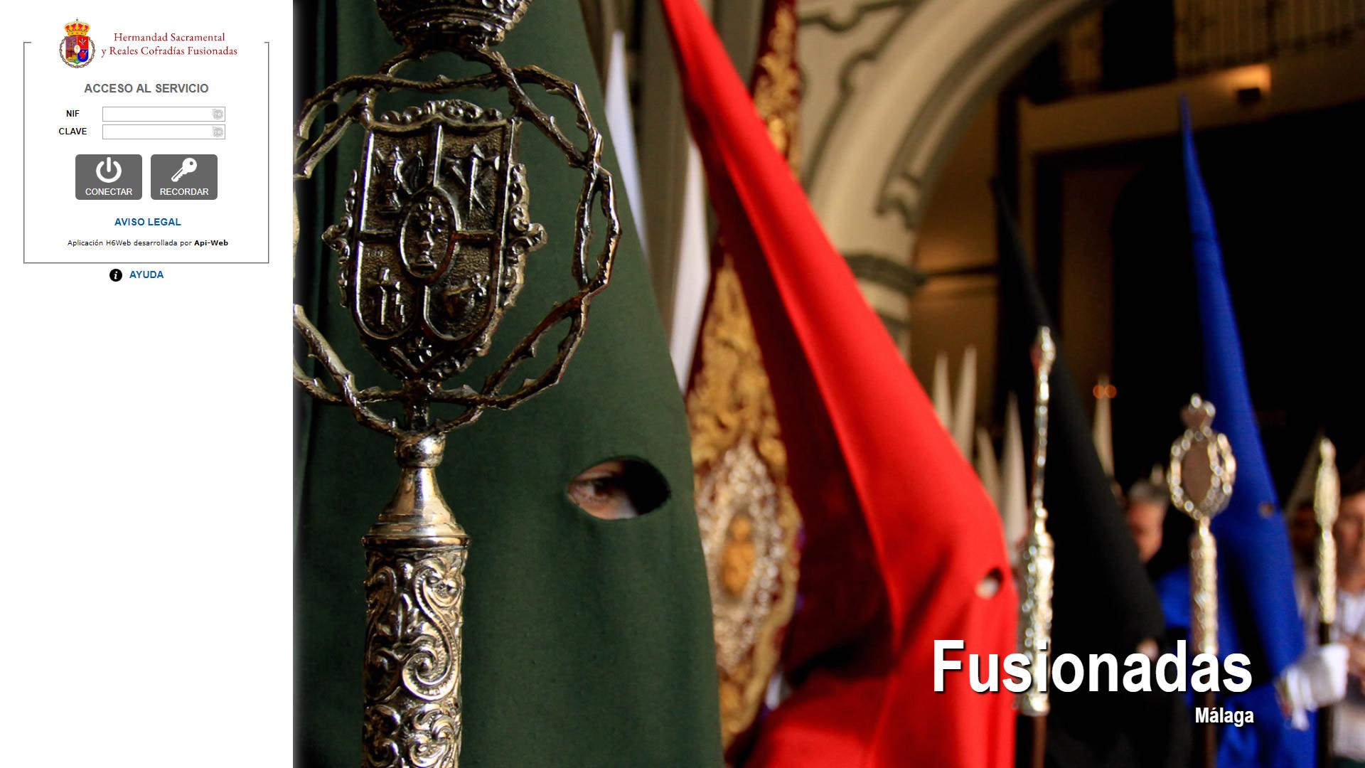 H6Web: Reales Cofradías Fusionadas de Málaga