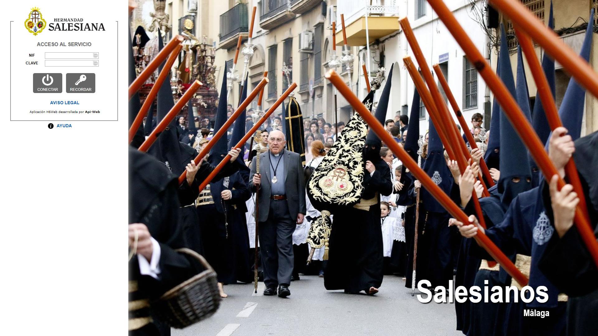H6Web: Hermandad Salesiana (Málaga)