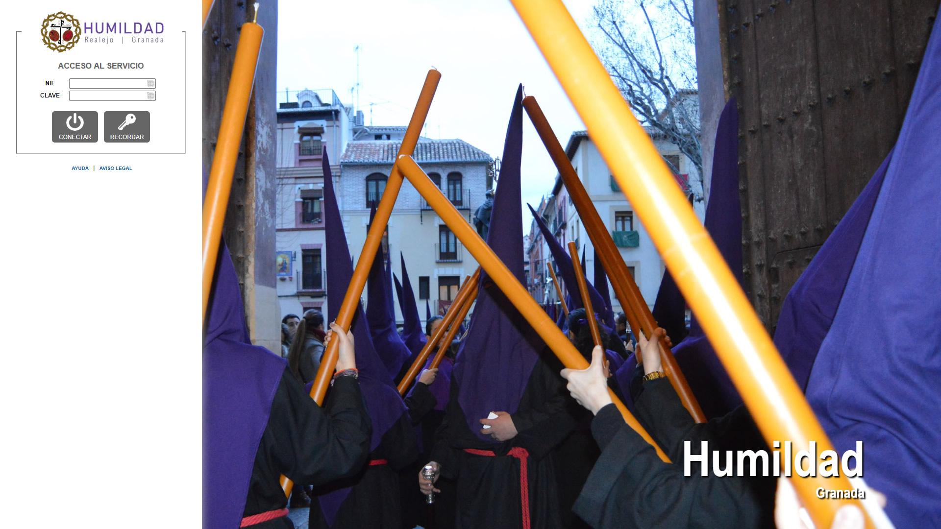 H6Web: Cofradía de la Humildad (Granada)