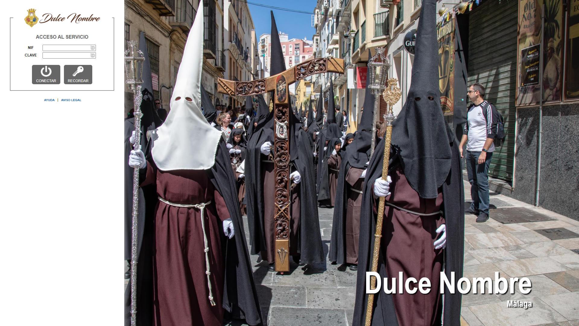 H6Web: Hermandad del Dulce Nombre (Málaga)