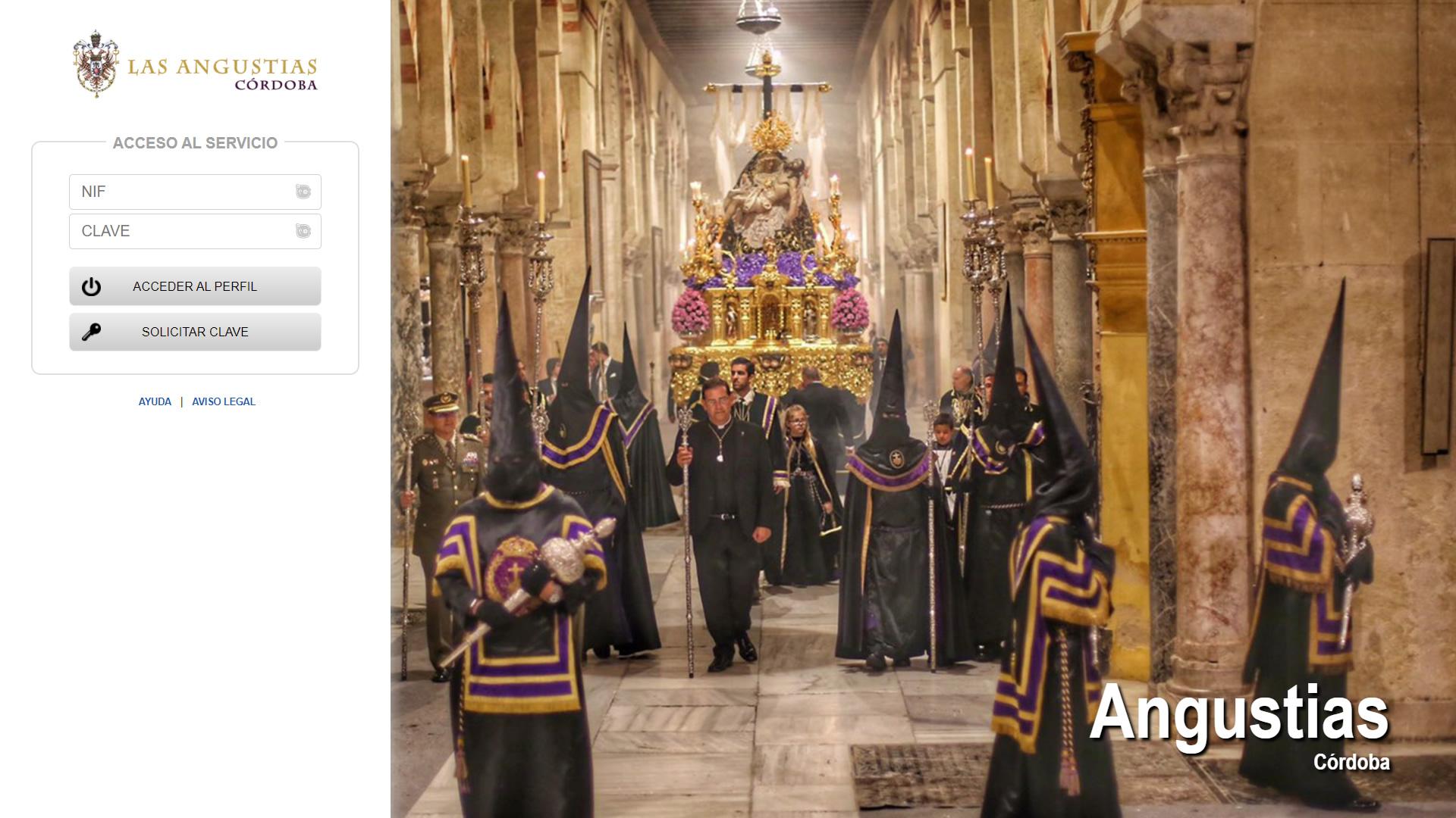H6Web: Hermandad de las Angustias (Córdoba)