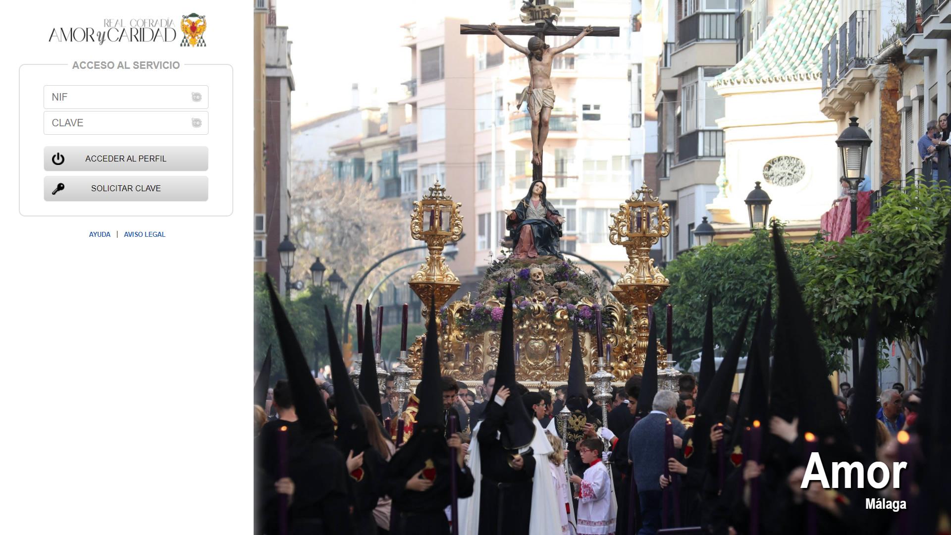 H6Web: Cofradía del Amor (Málaga)