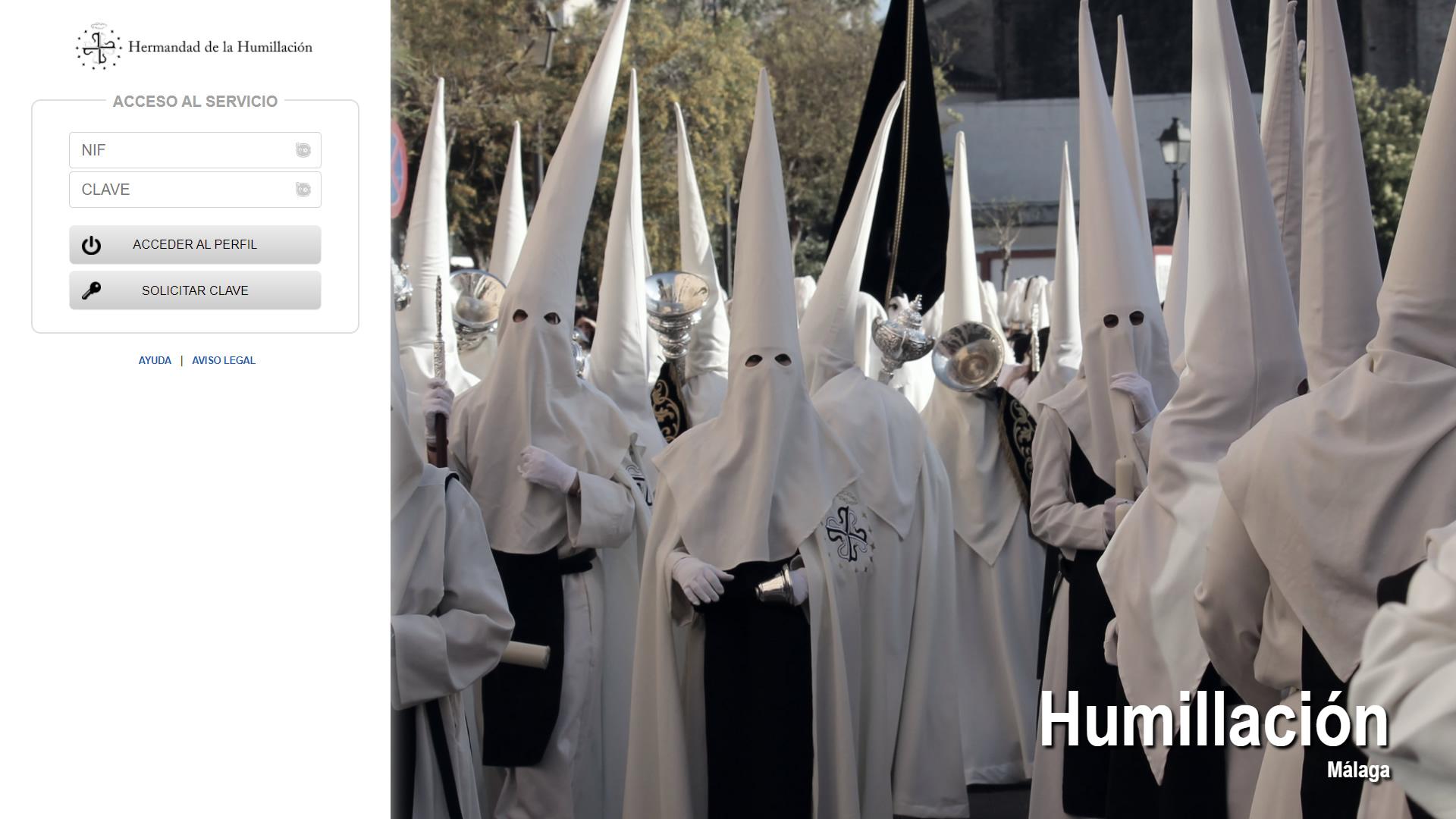 H6Web: Hermandad de la Humillación y Estrella